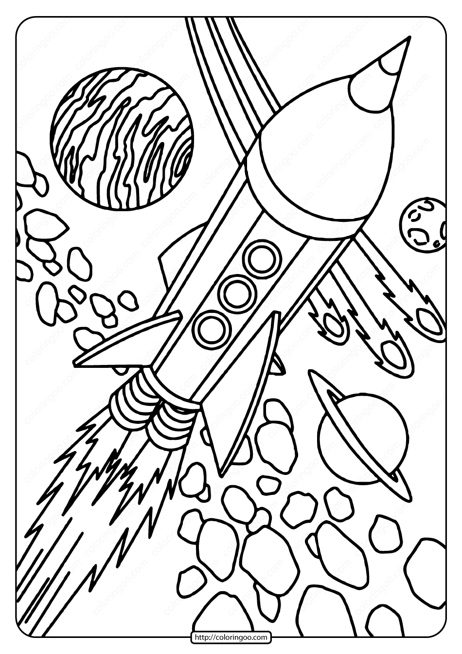 space coloring pages to print free printable rocket in space pdf coloring page pages print space coloring to