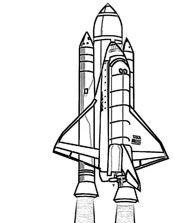 space shuttle coloring pages nasa discovery space shuttle coloring page download space coloring shuttle pages