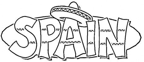 spanish colouring spain coloring pages coloring home colouring spanish