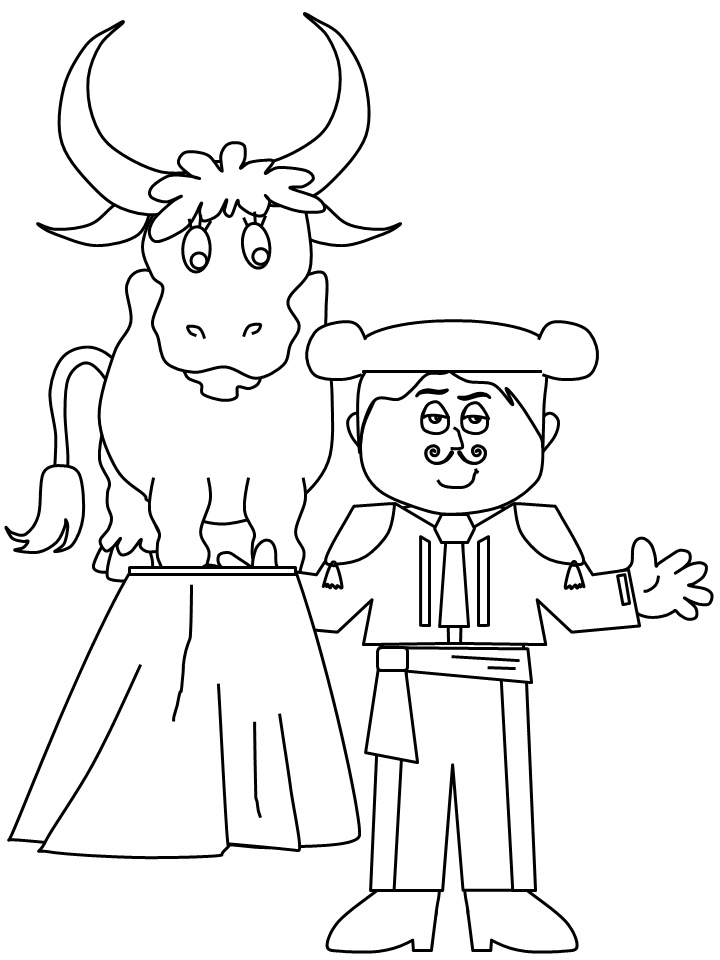 spanish pictures to colour spain coloring page super coloring coloring pages to colour pictures spanish