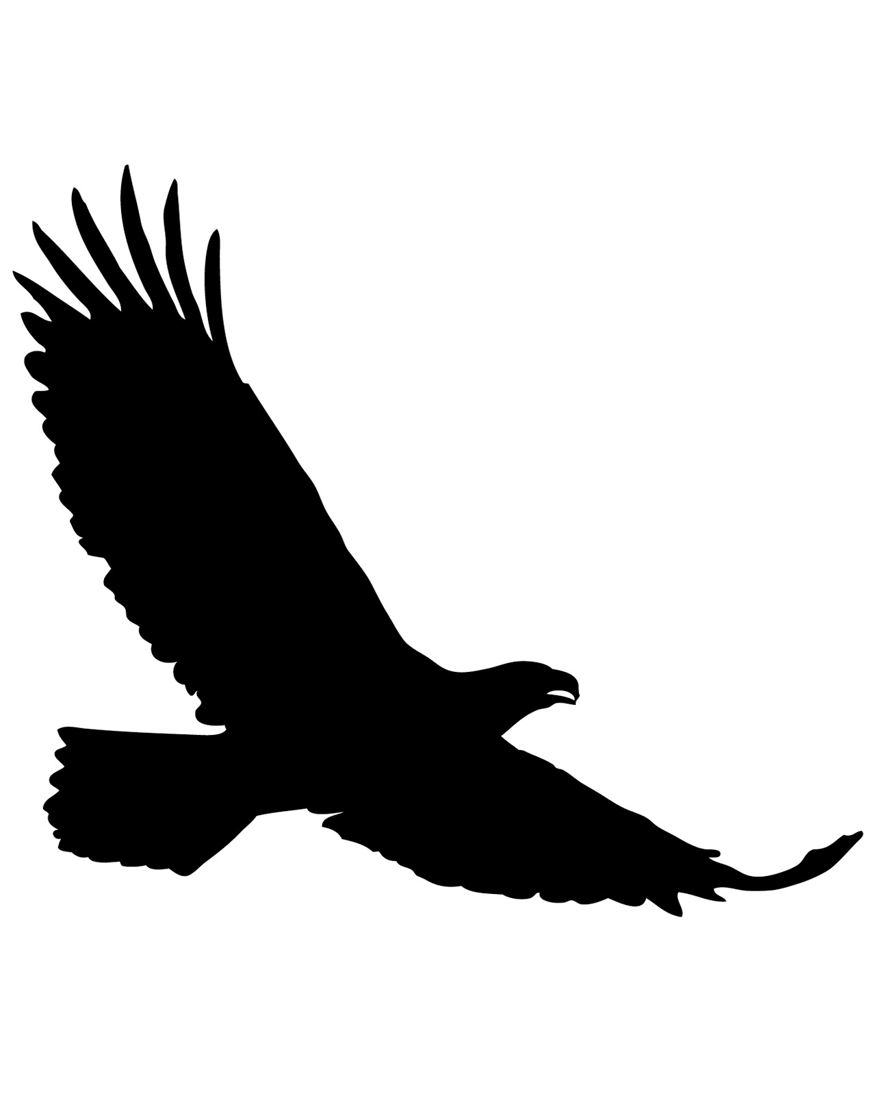 sparrowhawk silhouette sparrow silhouette at getdrawingscom free for personal sparrowhawk silhouette