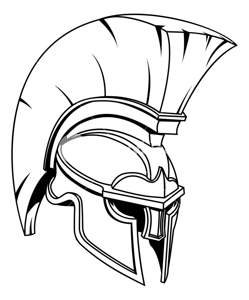 spartan helmet coloring pages spartan warrior drawing free download on clipartmag helmet spartan coloring pages