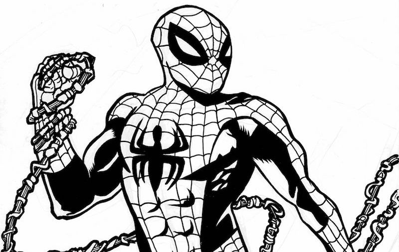 spider man stealth suit coloring page spider man far from home drawing black and white man coloring stealth suit page spider