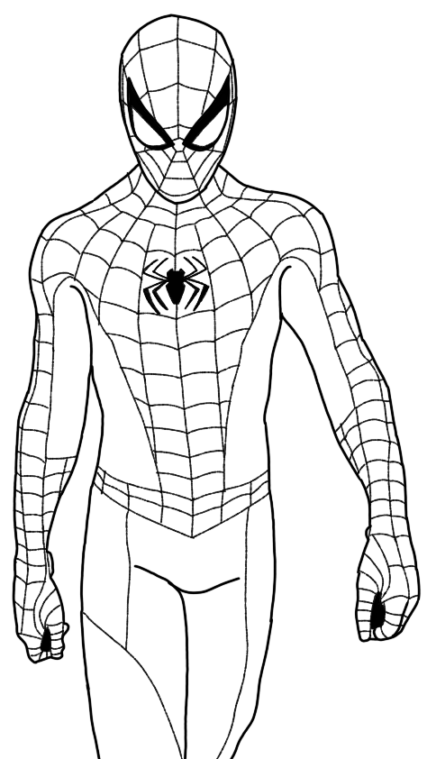 spider man stealth suit coloring page spider man superhero coloring pages coloring stealth page spider suit man