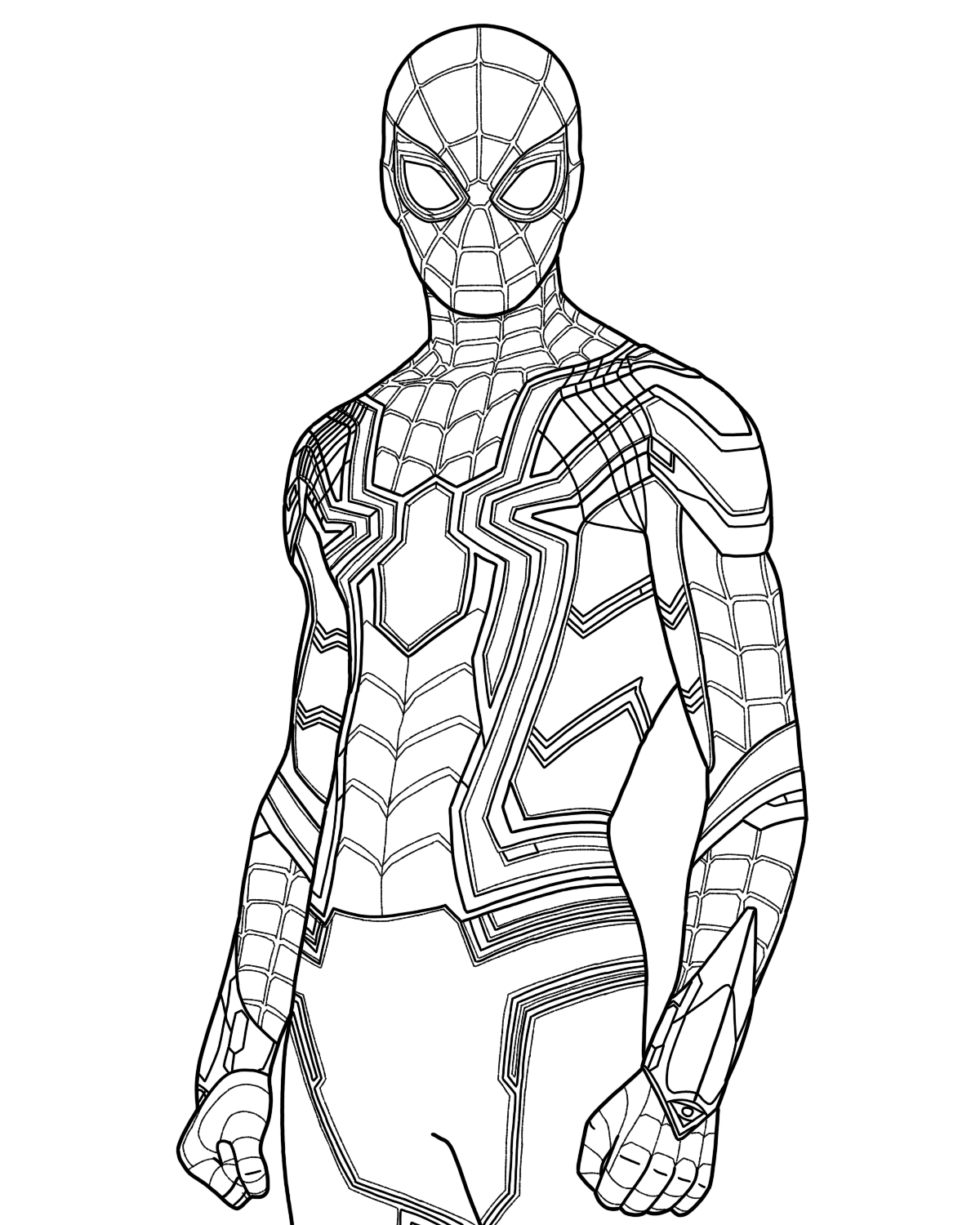 spider man stealth suit coloring page spider man superhero coloring pages coloring stealth spider man suit page