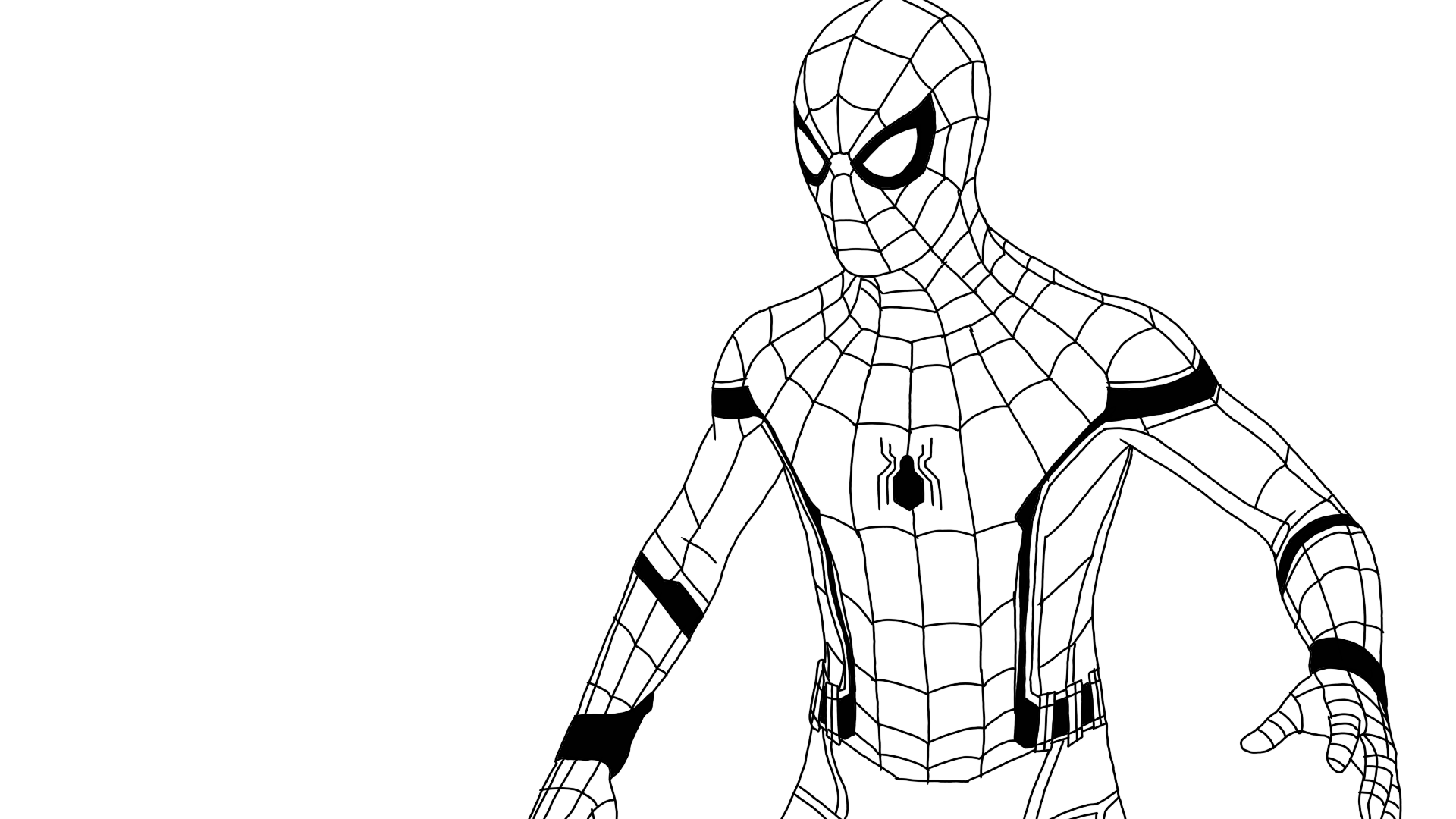 spider man stealth suit coloring page spider man superhero coloring pages page stealth suit spider man coloring