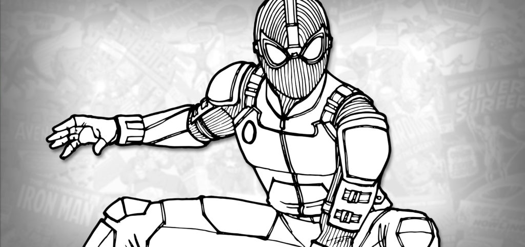 spider man stealth suit coloring page spider man superhero coloring pages spider page coloring stealth suit man