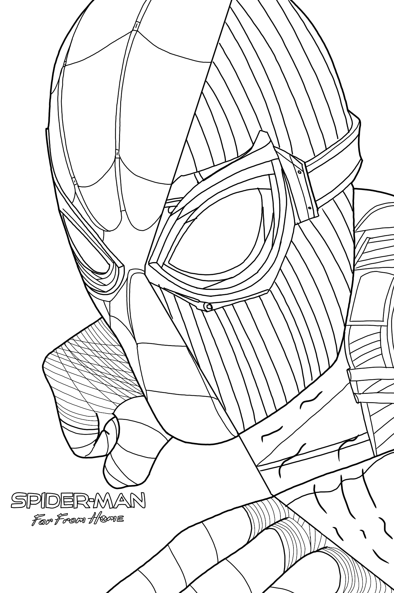 spider man stealth suit coloring page spider man superhero coloring pages stealth coloring spider man page suit