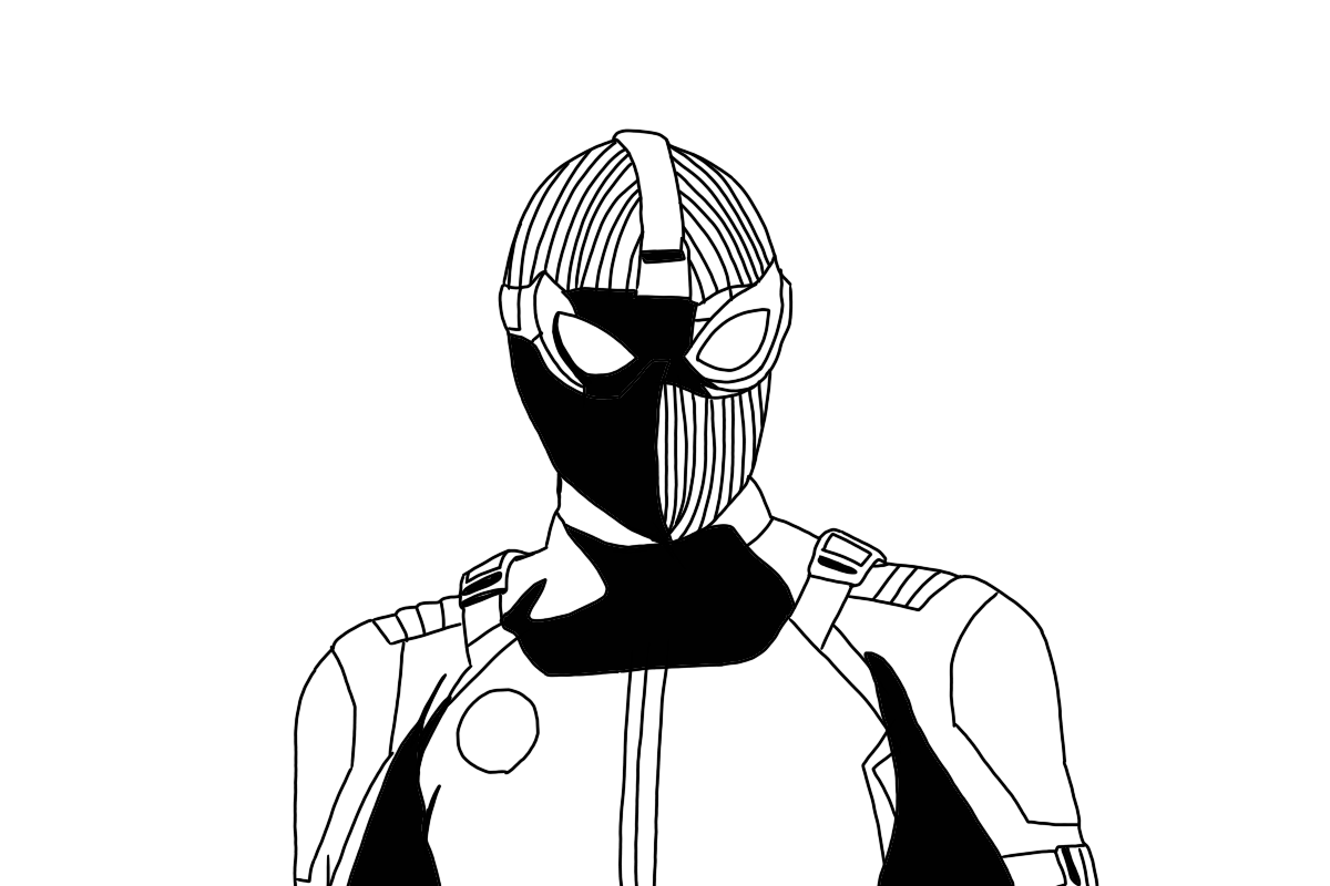 spider man stealth suit coloring page spider man superhero coloring pages stealth spider suit coloring man page