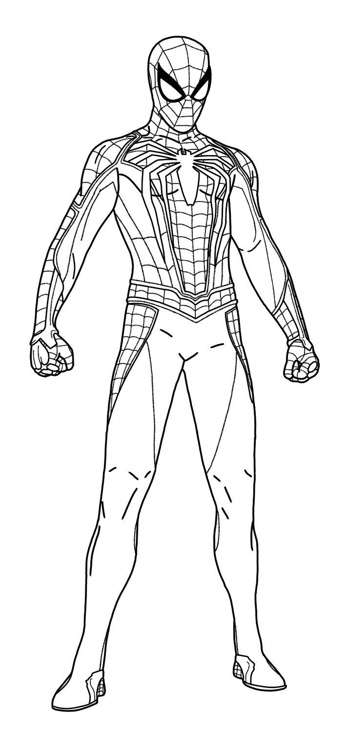 spider man stealth suit coloring page spider man superhero coloring pages stealth suit coloring page man spider