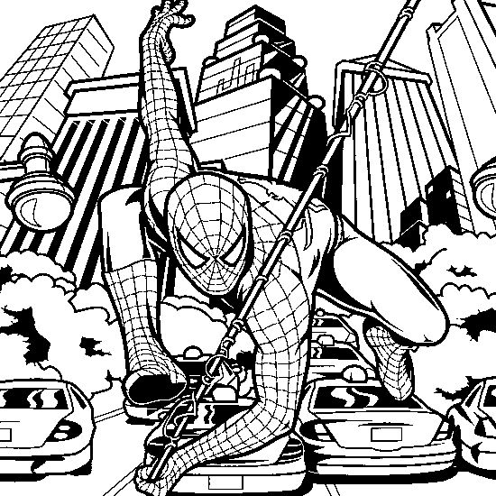 spiderman car coloring pages best 146 superhero coloring pages images on pinterest car coloring spiderman pages