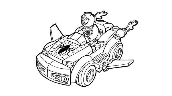 spiderman car coloring pages high quality spiderman chasing robbers in car to print for car coloring spiderman pages