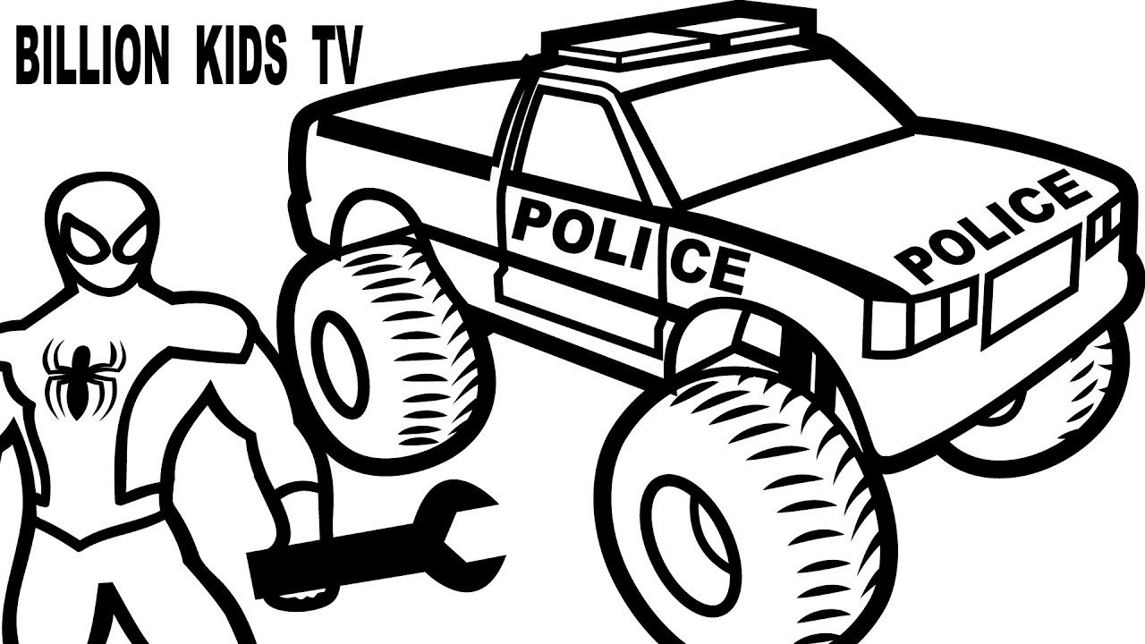 spiderman car coloring pages spiderman repair new police cars coloring pages for kids pages coloring car spiderman