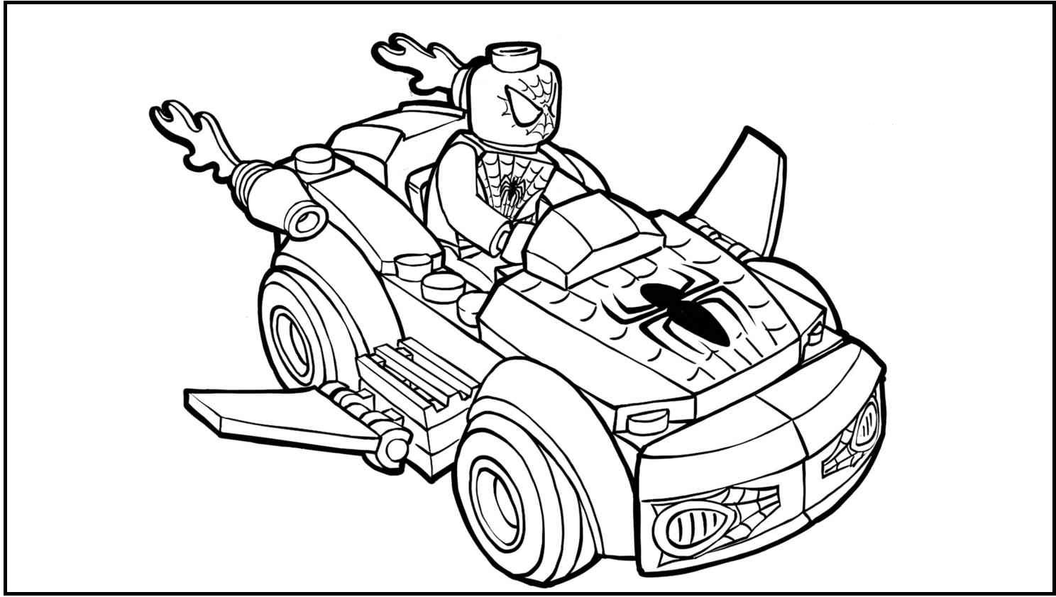 spiderman car coloring pages the best free repair coloring page images download from spiderman car pages coloring