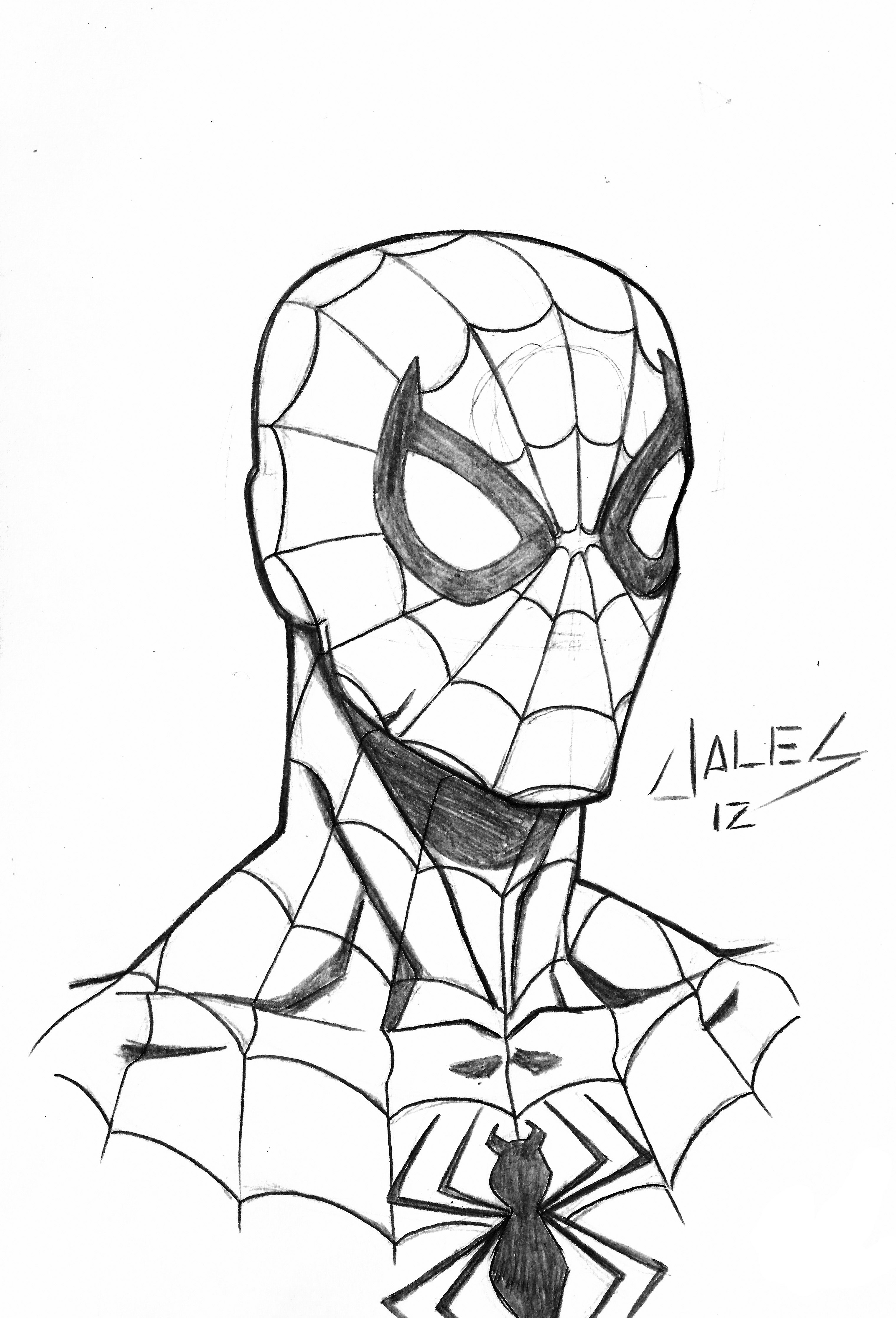 spiderman outline drawing spiderman clipart clipartsco outline spiderman drawing
