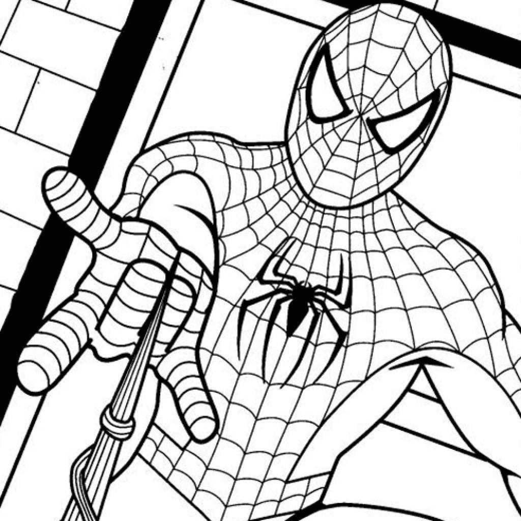 spiderman outline drawing spiderman coloring page spiderman drawingcoloring spiderman drawing outline
