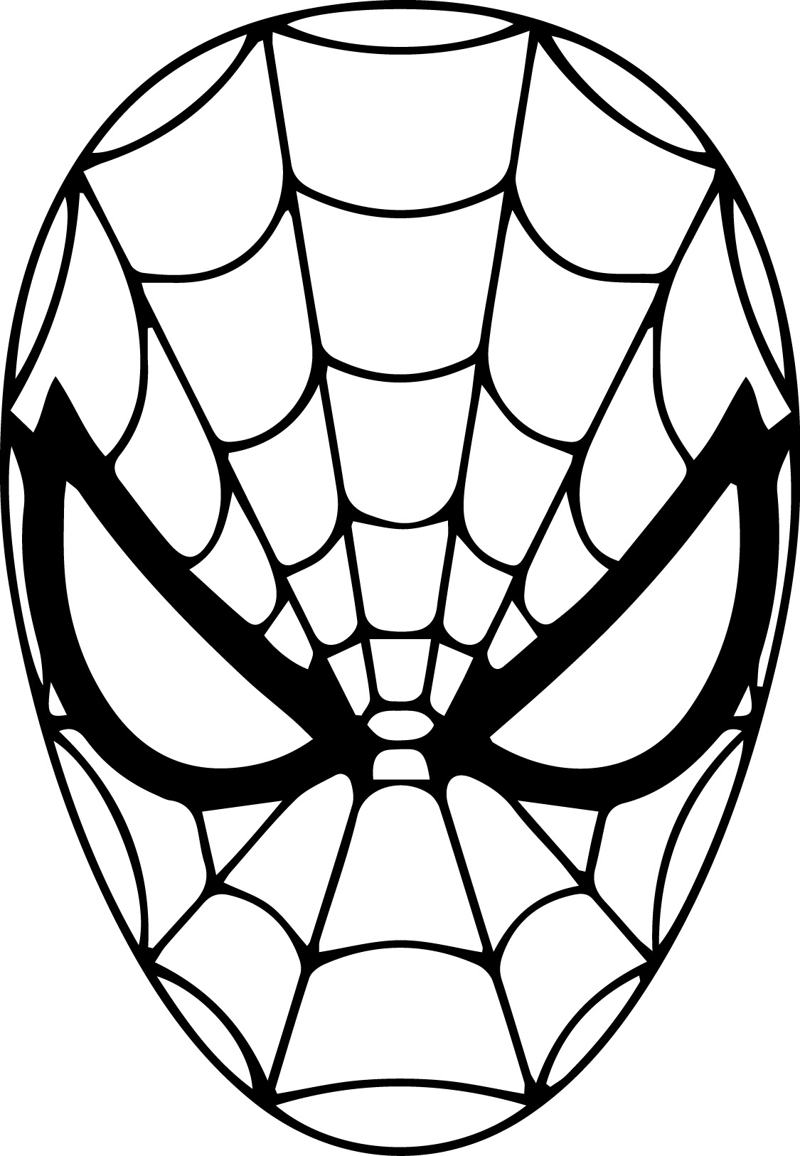 spiderman outline drawing spiderman outline drawing at getdrawings free download spiderman drawing outline