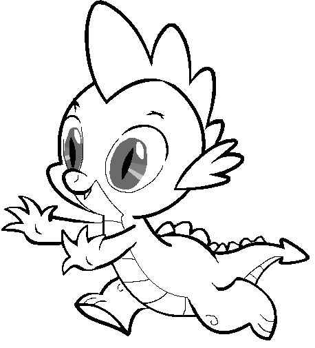 spike my little pony coloring page imagens do spike para colorir coloring my spike pony little page