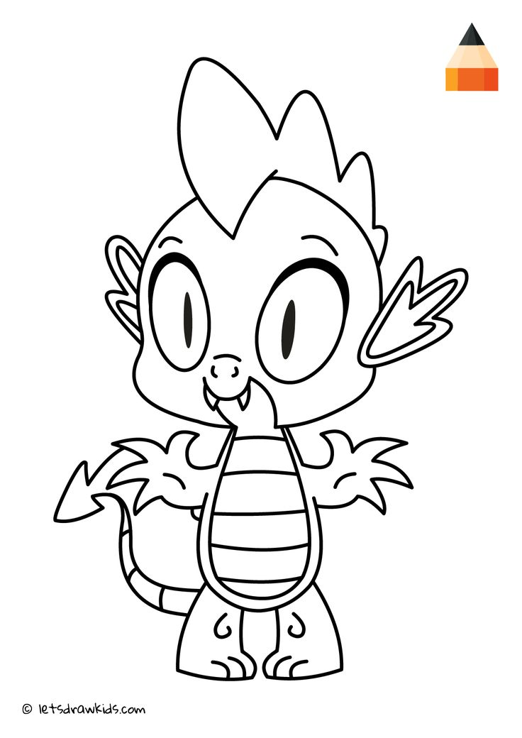 spike my little pony coloring page spike from my little pony equestria girls coloring pages my spike coloring pony page little