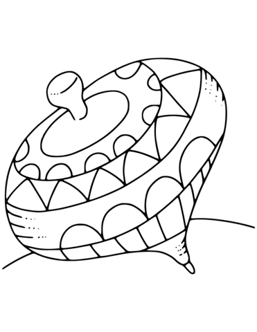 spinning top coloring page top toy coloring pages coloring pages to download and print spinning top page coloring
