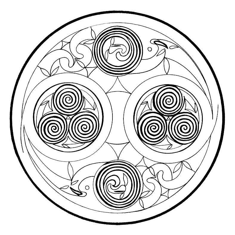 spiral mandala celtic mandala spirals as energy flow typical for the mandala spiral