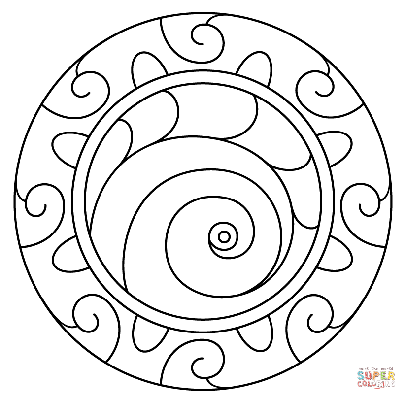 spiral pictures to color coloring page world color spiral to color spiral pictures