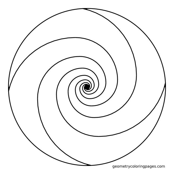 spiral pictures to color spiral coloring pages at getdrawings free download to spiral pictures color