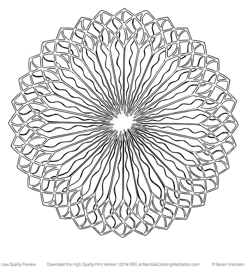 spiral pictures to color spiral mandala coloring page m110 color a mandala color spiral pictures to