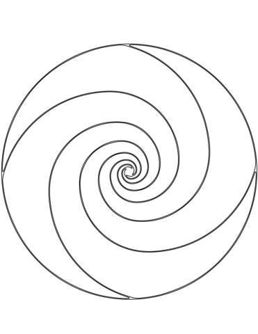 spiral pictures to color spiral mandala coloring pages sketch coloring page spiral color to pictures