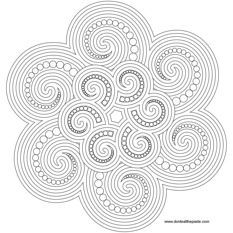 spiral pictures to color spirals coloring page color pictures spiral to