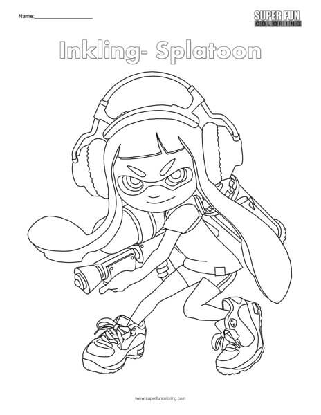 splatoon 2 coloring pages splatoon 2 marina drawing process with free coloring page coloring splatoon 2 pages