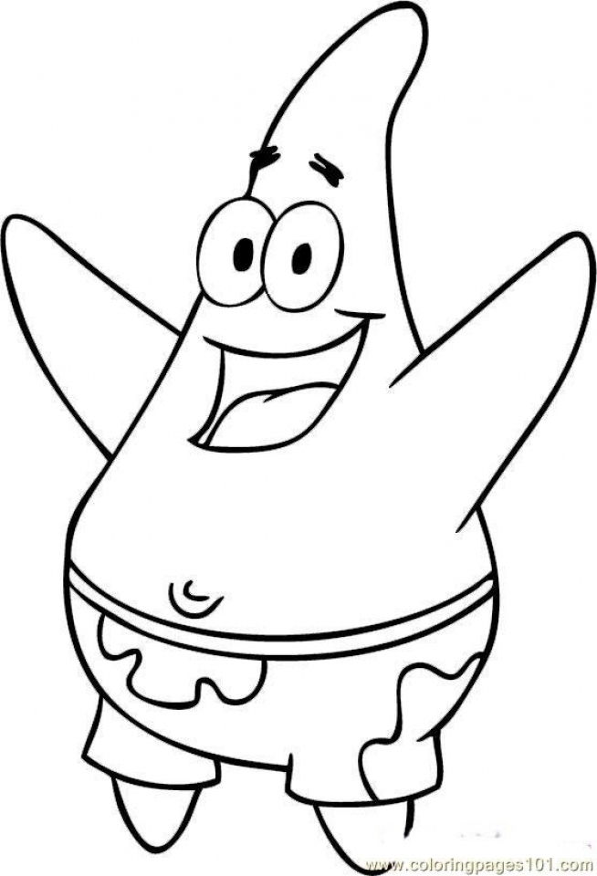spongebob characters coloring pages get this free spongebob squarepants coloring pages to spongebob characters coloring pages
