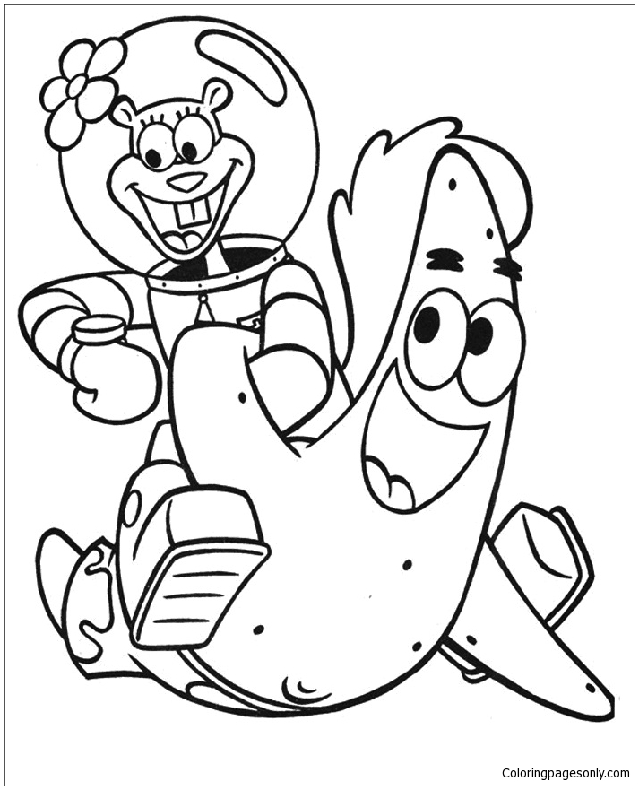 spongebob characters coloring pages spongebob characters coloring page free coloring pages coloring characters pages spongebob