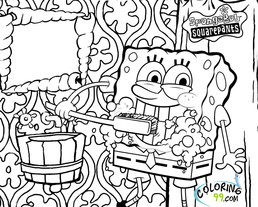 spongebob characters coloring pages spongebob coloring pages printable 101 activity spongebob pages characters coloring