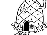 spongebobs pineapple house coloring pages spongebob pineapple house coloring page coloring pages house coloring pages pineapple spongebobs