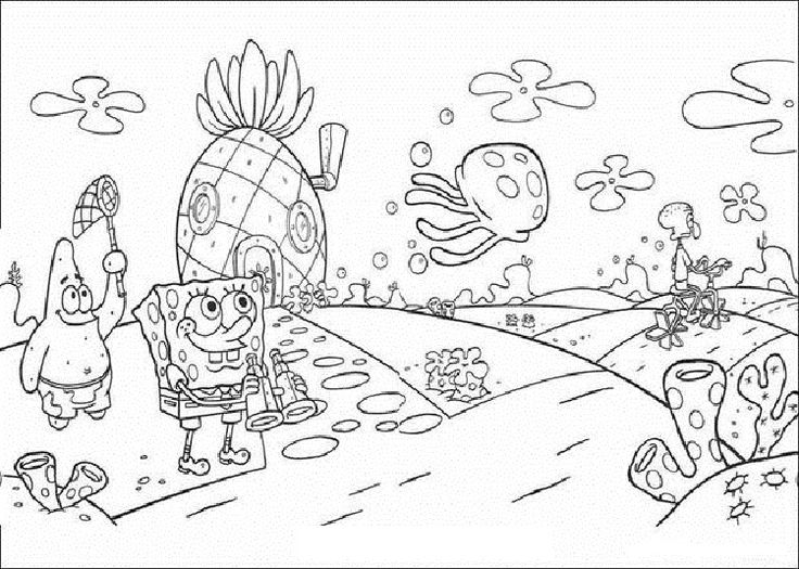 spongebobs pineapple house coloring pages spongebob39s pineapple house coloring pages มรปภาพ house coloring pineapple pages spongebobs