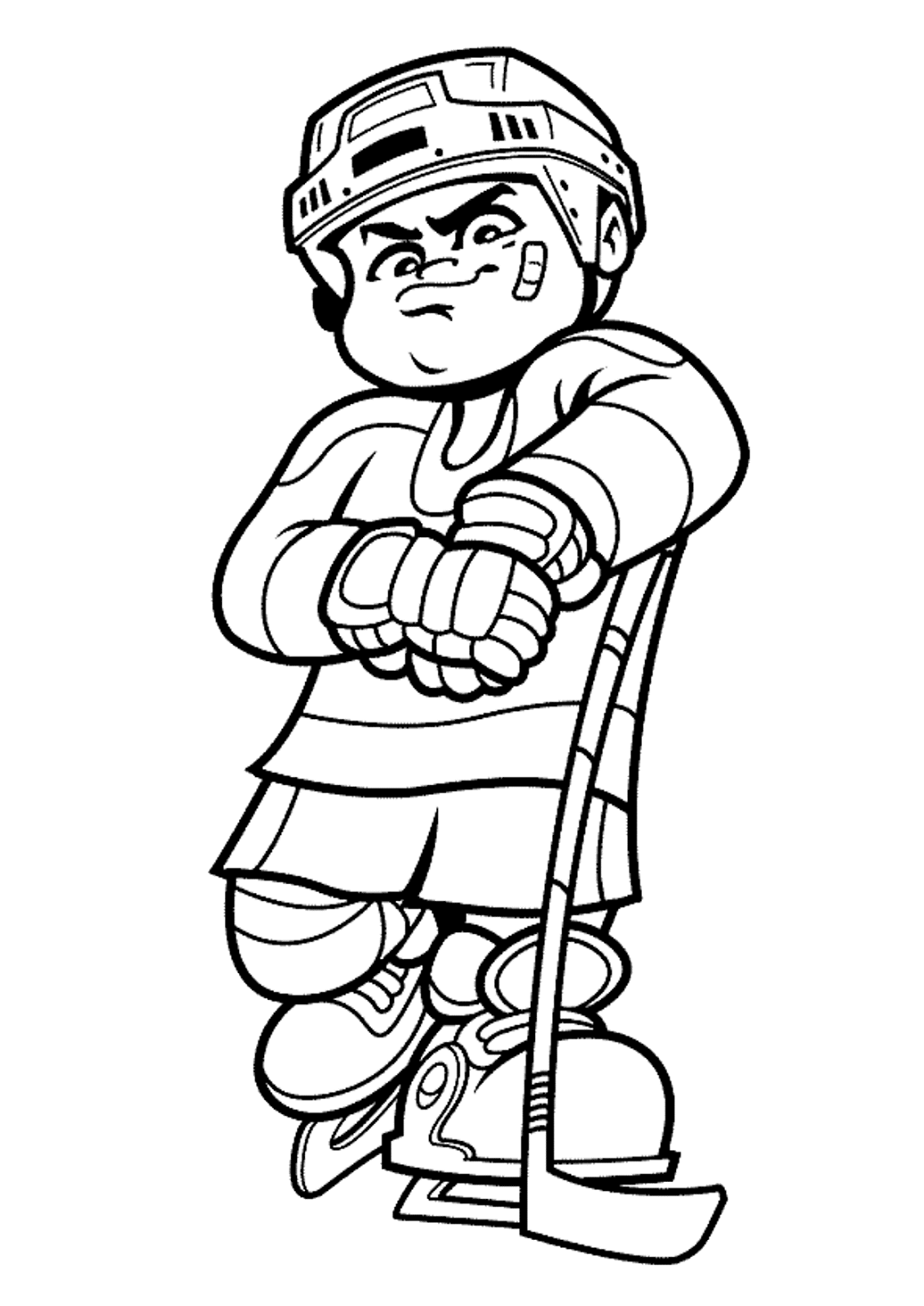 sport coloring pages types of sports coloring pages for kids hockey sports pages sport coloring
