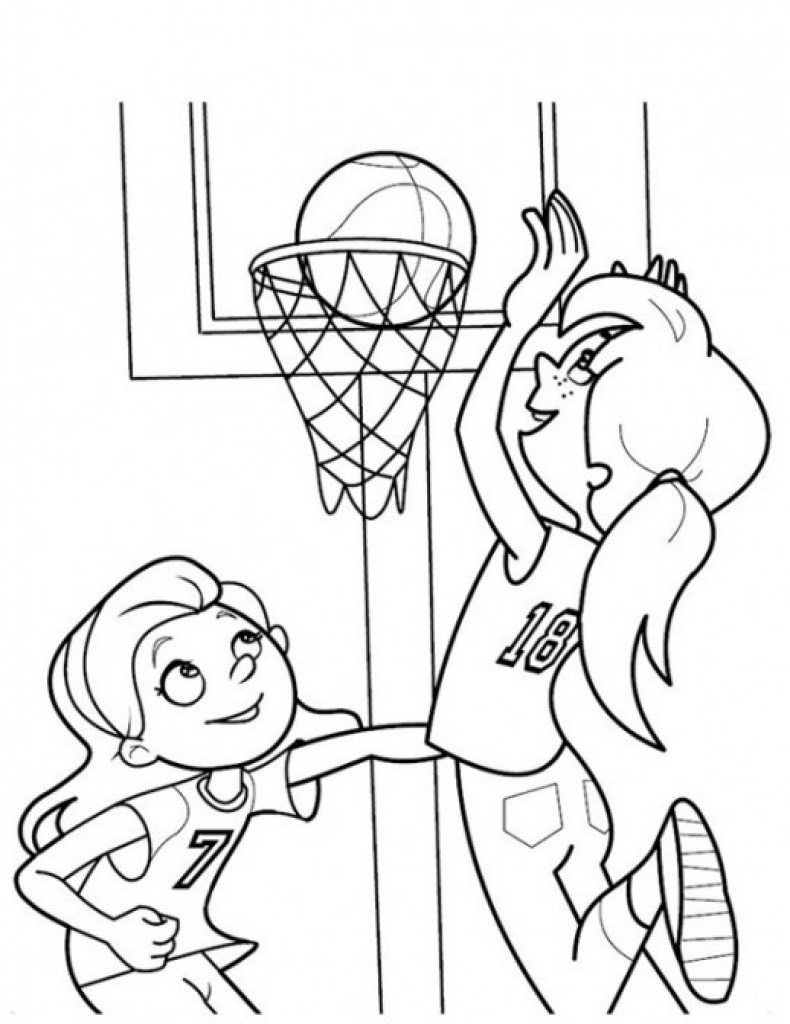 sports pictures to color basketball coloring pages to print for kids sports color to pictures sports