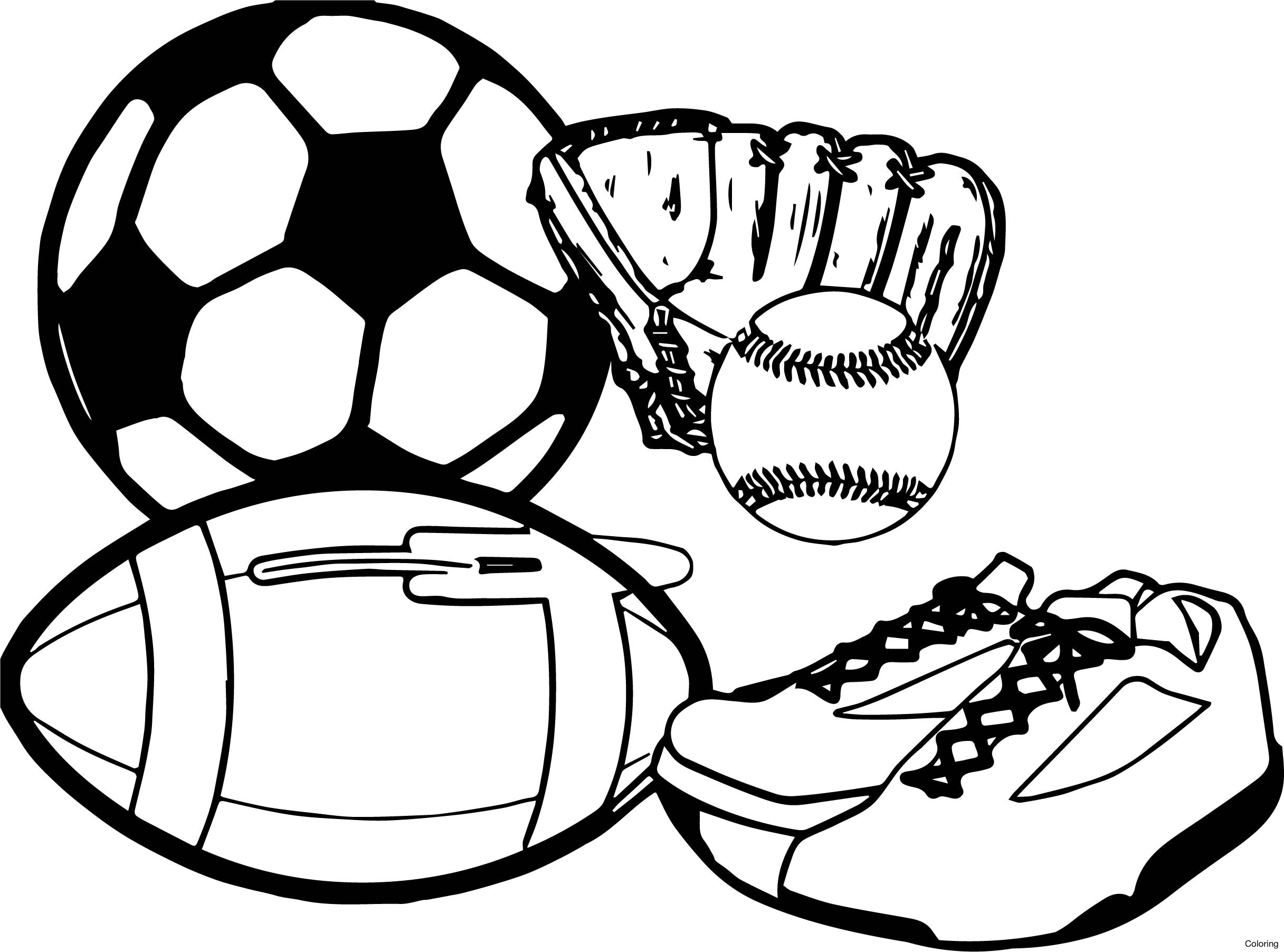 sports pictures to color free printable sports coloring pages for kids to pictures sports color