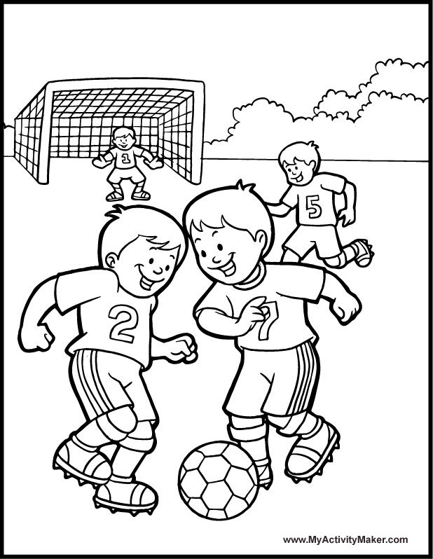 sports pictures to color soccer game coloring page a free sports coloring printable pictures sports to color