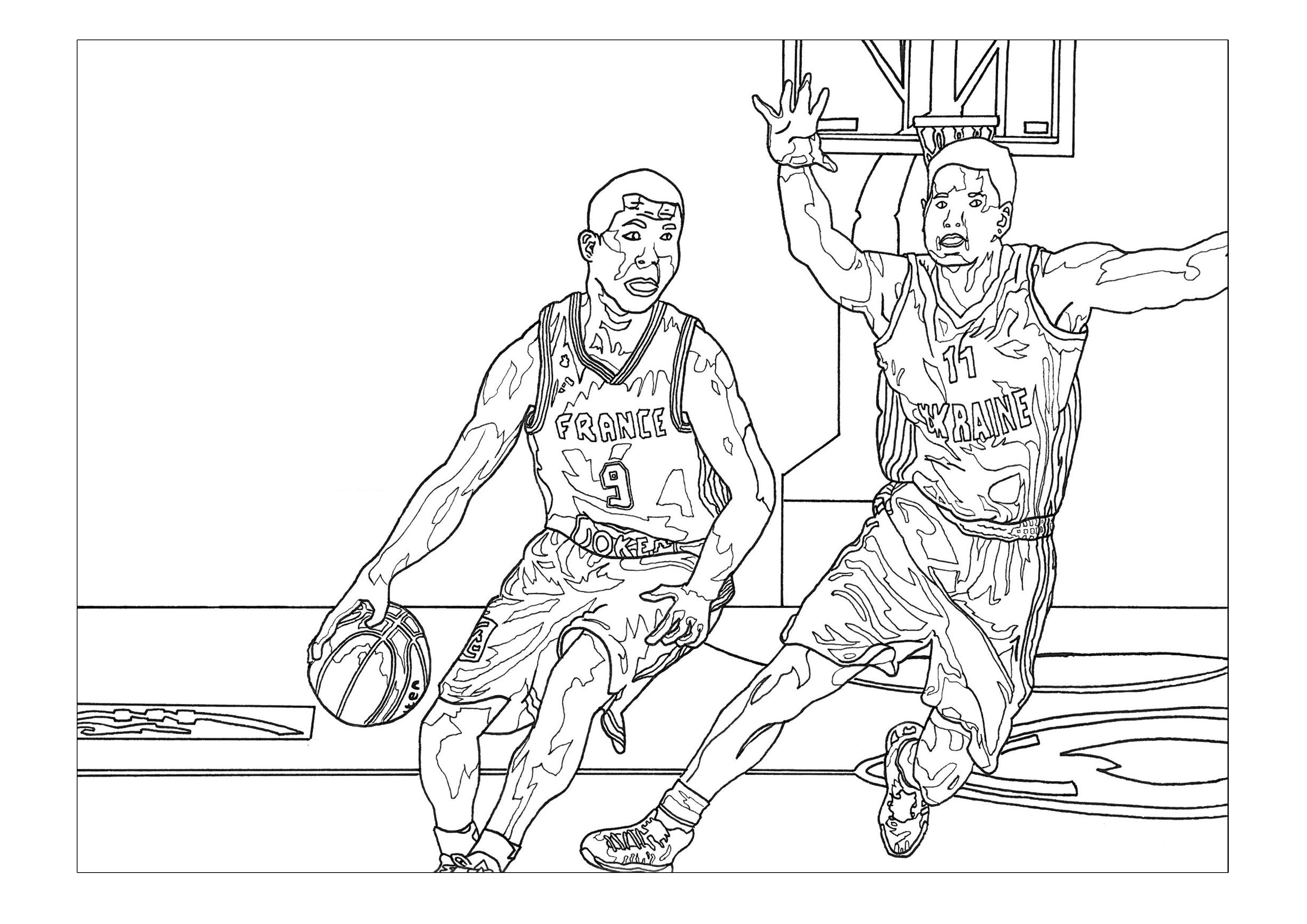 sports pictures to color sport basketball sport coloring pages for kids to print pictures to color sports