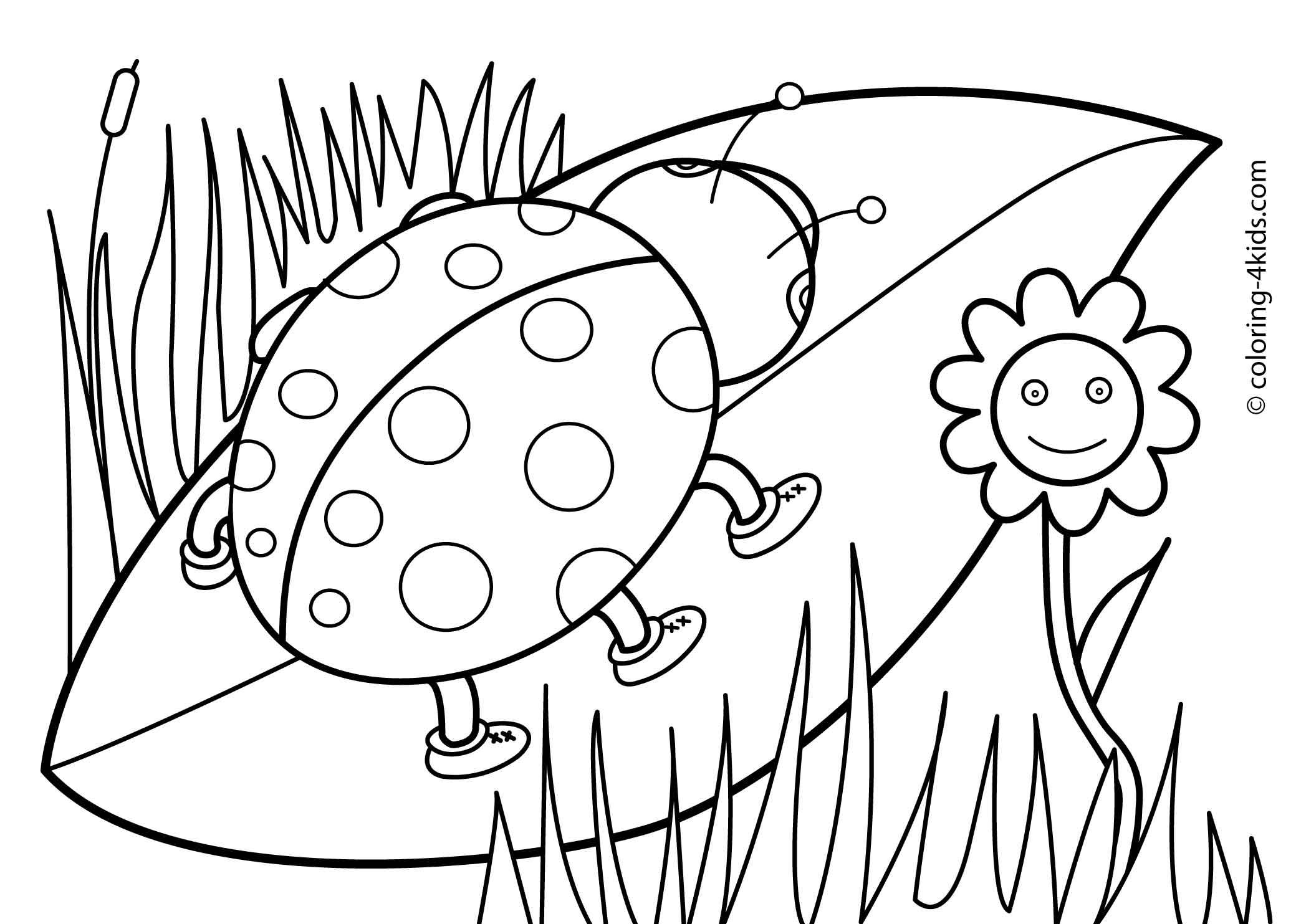 spring nature coloring pages happy nature in spring coloring page for kids seasons nature coloring pages spring