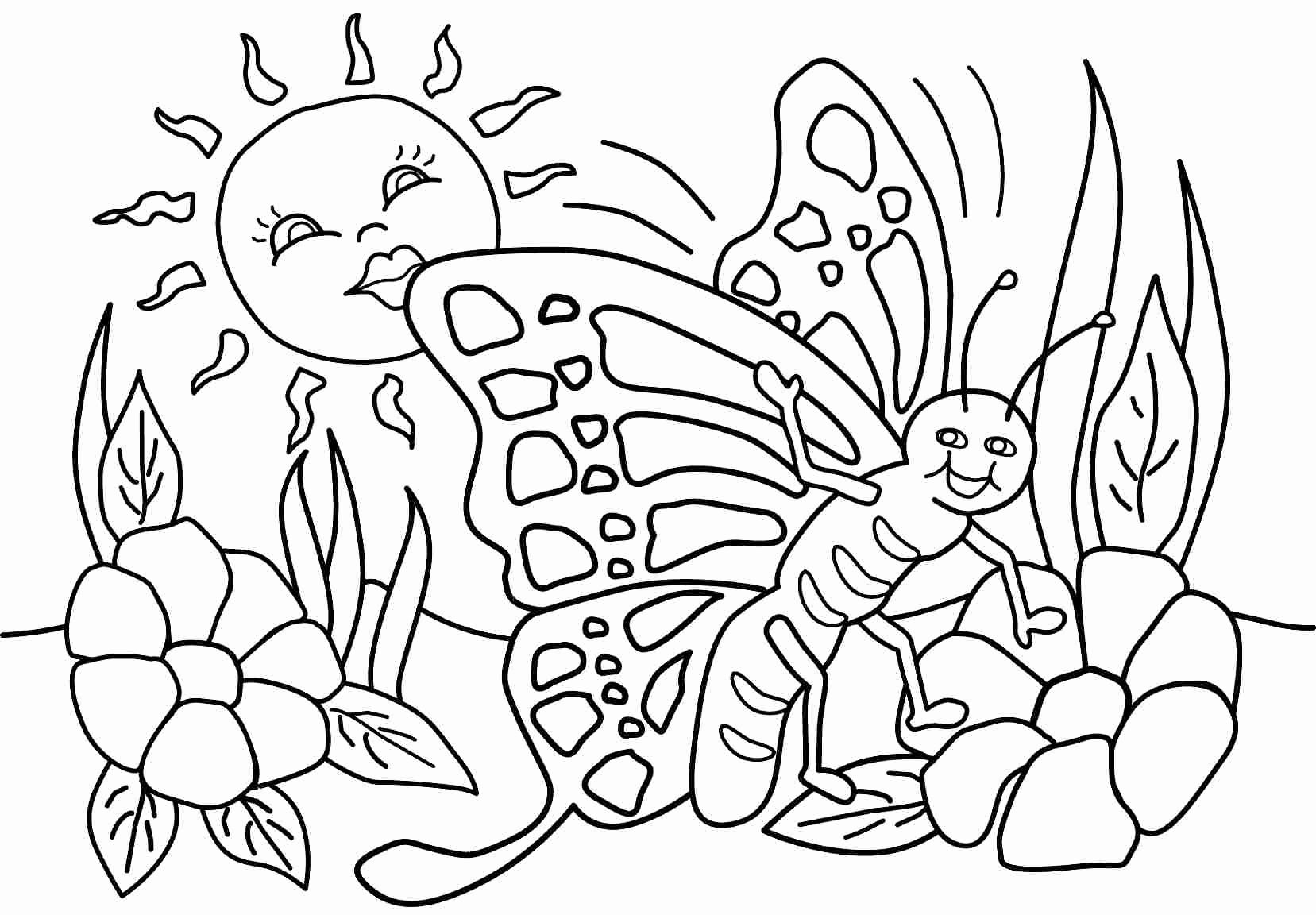 spring nature coloring pages season and weather coloring pages momjunction pages nature coloring spring