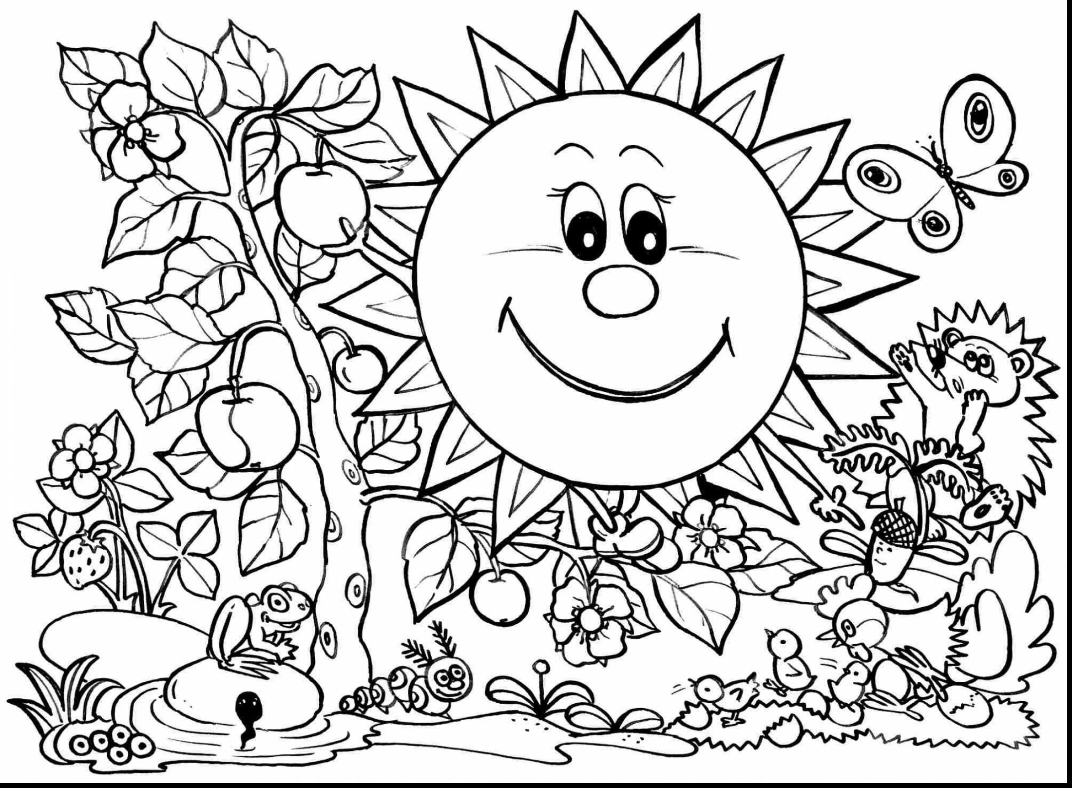 spring nature coloring pages spring blossoms tree coloring pages nature seasons spring coloring nature pages