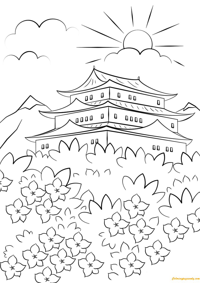 spring nature coloring pages spring season 164745 nature printable coloring pages spring coloring nature pages