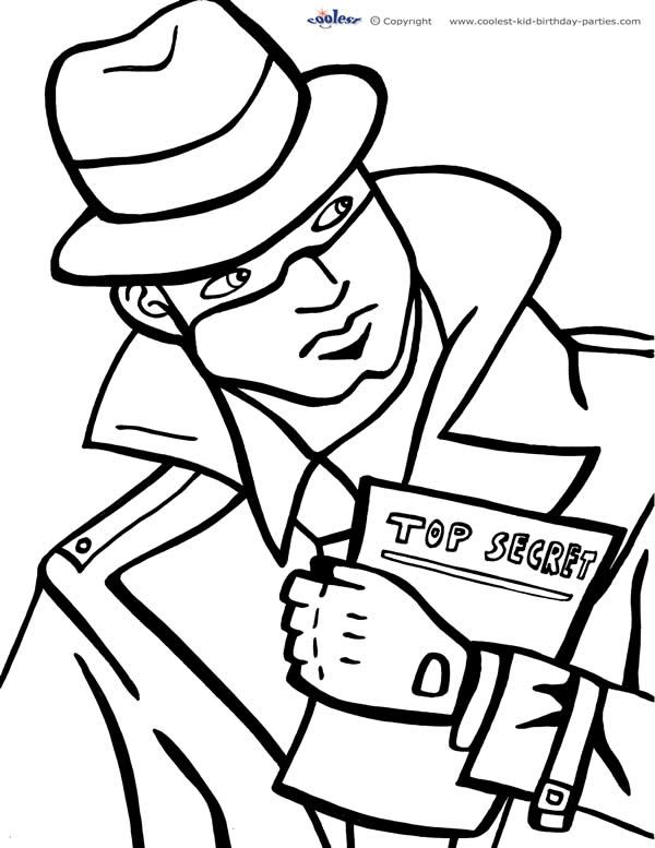 spy kids coloring pages spy coloring pages to download and print for free spy pages kids coloring