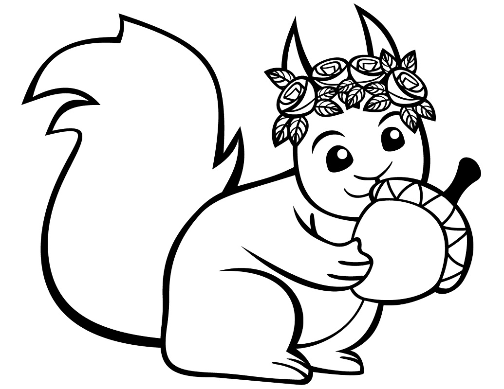 squirrel coloring pages free squirrel coloring pages for preschool coloring home free pages squirrel coloring