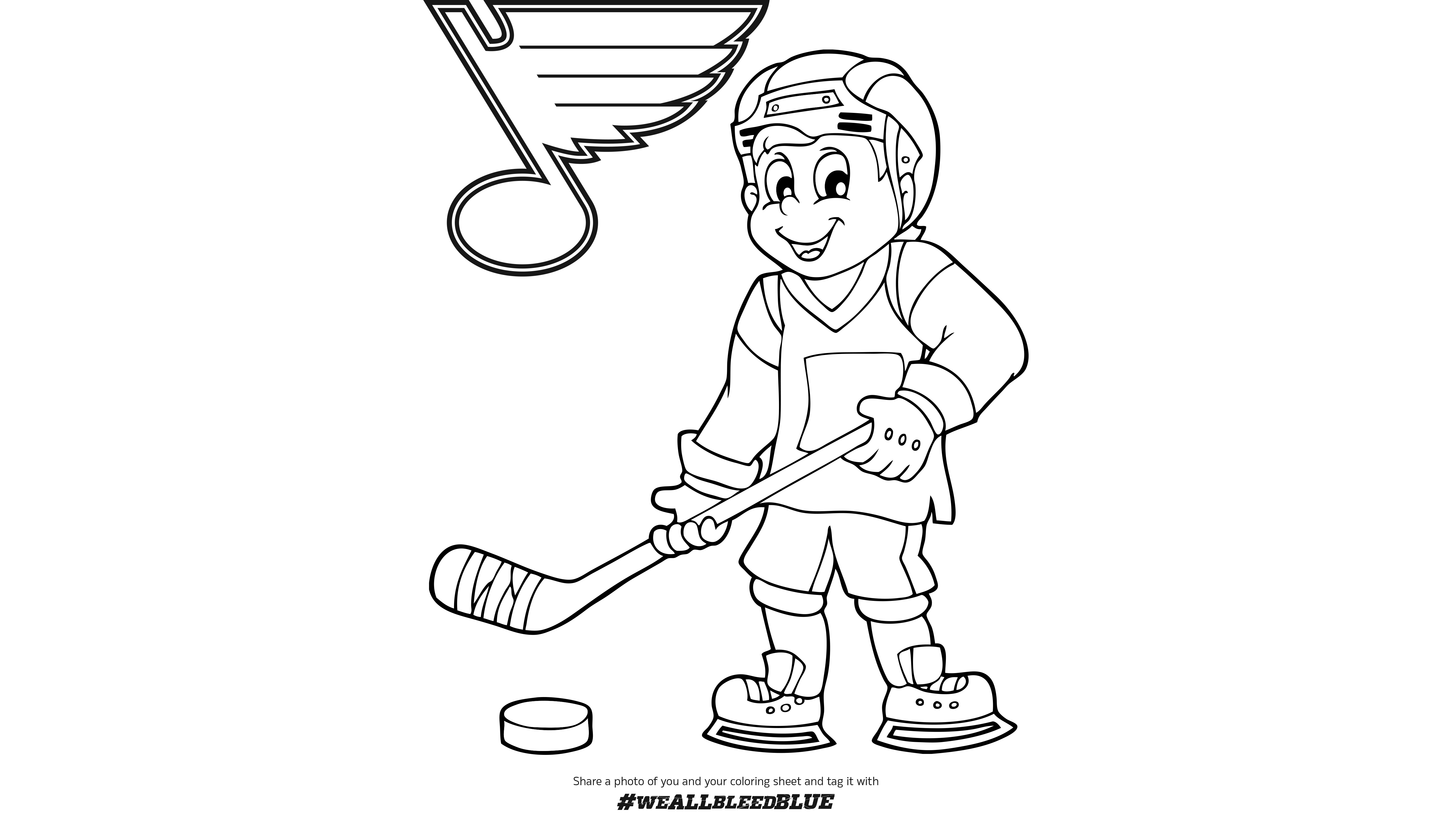 st louis blues coloring pages st louis blues coloring pages at getdrawings free download louis st blues coloring pages