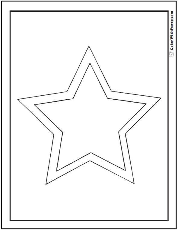 star outline coloring page 80 shape coloring pages color squares circles triangles page coloring outline star
