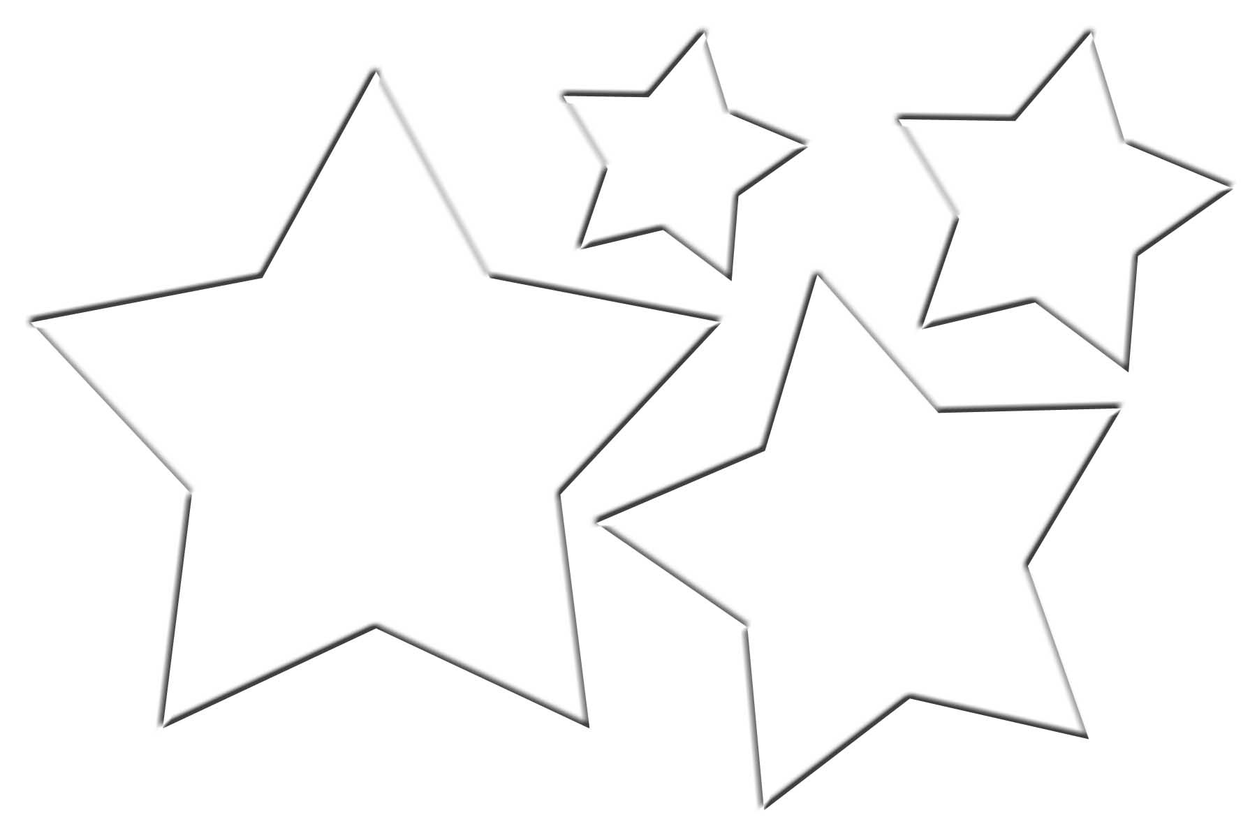 star outline coloring page christmas star template clipart best star page coloring outline